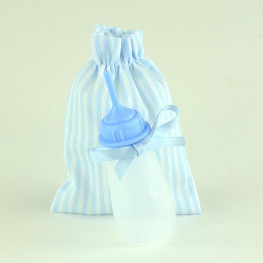 Арт. 0000053. Аксессуары для кукол ASI, бутылочка голубая.