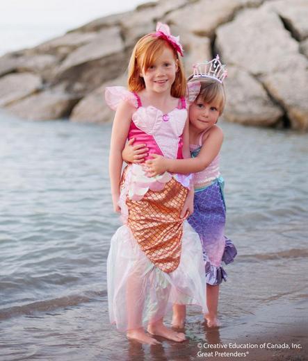 Розовое платье русалочки, арт. 34515