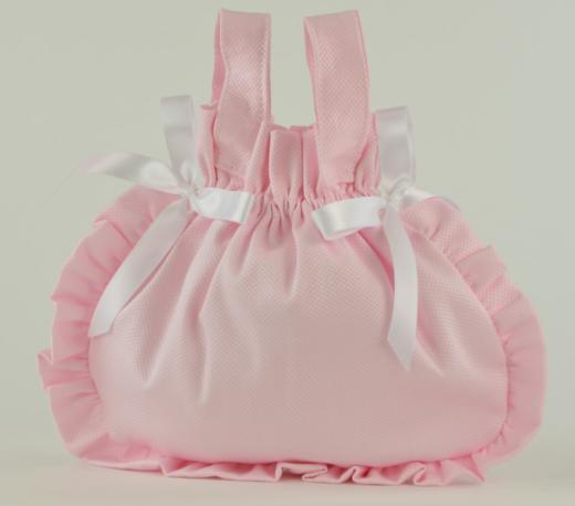 Арт. 0000058. Аксессуары для кукол ASI, сумочка розовая.
