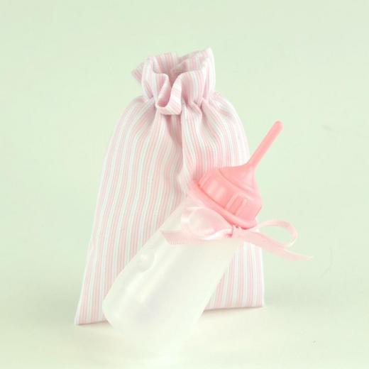 Арт. 0000052. Аксессуары для кукол ASI, бутылочка розовая.