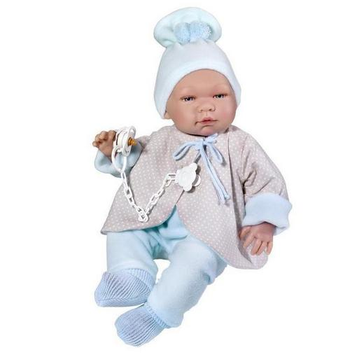 "Кукла-младенец ""ASI"" Пабло, 43 см (арт.364051)"