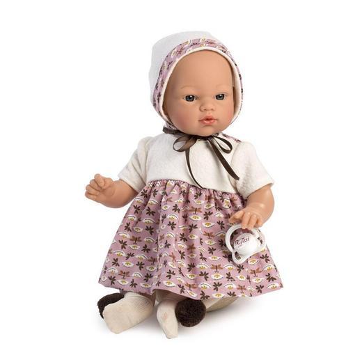 """Кукла-пупс """"ASI"""" Коки в платьице с пустышкой (арт.405770)"""