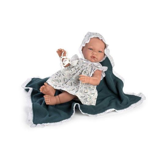 """Кукла-младенец """"ASI"""" Мария в платье с пледом (арт.365730)"""