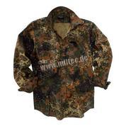 Рубашка полевая flecktarn (рип-стоп, хлопок)
