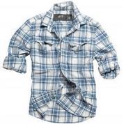Рубашка WOODCUTTER SHIRT голубая