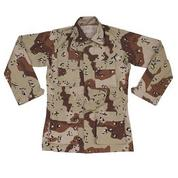 Рубашка US BDU Jacke, 6 Farb. desert