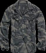 Уточнять наличие - SlimFit Shirt darkcamo рубашка камуфляжной расцветки темного цвета