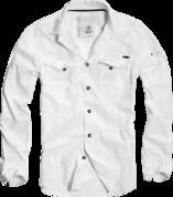 SlimFit Shirt white рубашка белого цвета