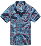 Рубашка с коротким рукавом Roadstar Shirt 1/2 Arm red/blue