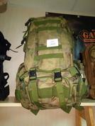 Рюкзак 60 литров с доп.сумкой