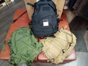 Рюкзак камуфляжный среднего размера