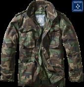 Уточнять наличие - Куртка M-65 с подстежкой (Woodland)