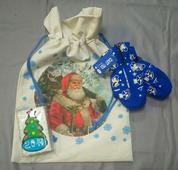 Набор для ребёнка 2-5 лет с варежками