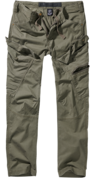 Adven Slim Fit Trousers olive