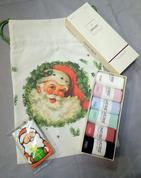 Носки+пряник+мешочек - набор подарочный женский