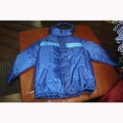 Куртка зимняя (синяя) на синтепоне