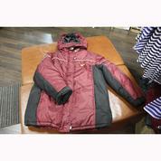 Куртка зимняя (красная) на синтепоне