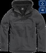 Утеплённая куртка-виндстоппер Комбат анорак (цвет чёрный)