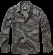 Уточнять наличие - Josh Shirt darkcamo - 100% хлопковая рубашка с длинным рукавом
