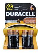 AA батарейки Duracell, 4шт