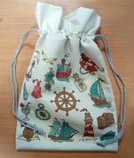 Мешок подарочный (маяк) 30*45 см