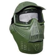 Пластиковая маска с сеткой в области глаз