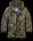 Уточнять наличие - Куртка зимняя BW parka Flecktarn