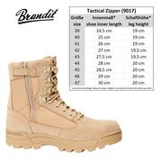 Уточнять наличие - Tactical Zipper Camel берцы от Брандит