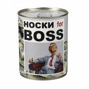 """Носки """"Big Boss"""" в банке"""