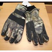 Перчатки тёплые зимние, расцветка камуфляж