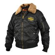 Куртка Аляска чёрная Military style 762.
