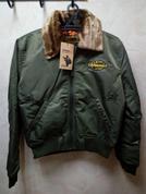 Куртка Аляска олива Military style 762