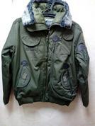 Куртка 726 gear олива милитари зимняя
