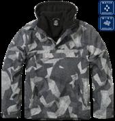 Утепленная куртка-виндстоппер комбат-анорак (Night camo digital).