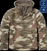 Уточнять наличие - Утепленная куртка-виндстоппер комбат-анорак (Light woodland).