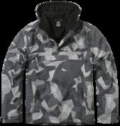 Уточнять наличие - Утепленная куртка-виндстоппер комбат-анорак (Night camo digital).