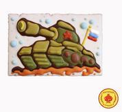 Покровский пряник Танк на 23 февраля