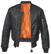 Куртка MA1 чёрная
