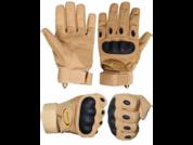 Перчатки Oakley бежевые тактические с защитой