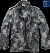 Уточнять наличие - Куртка M-65 с подстежкой (Night camo digital)