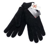 Перчатки унисекс. Материал:вывернутая кожа (замша), утеплитель Thinsulate®40гр. Цвет: черный (1465А)