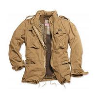 Куртка Regiment M 65 jacket beige (подкладка: иск. мех)
