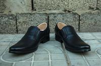 Туфли (полуботинки) офицерские кожаные