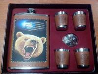 Набор подарочный с изображением медведя