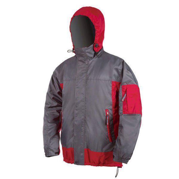Куртка NOVA TOUR Иней, серый/бордовый