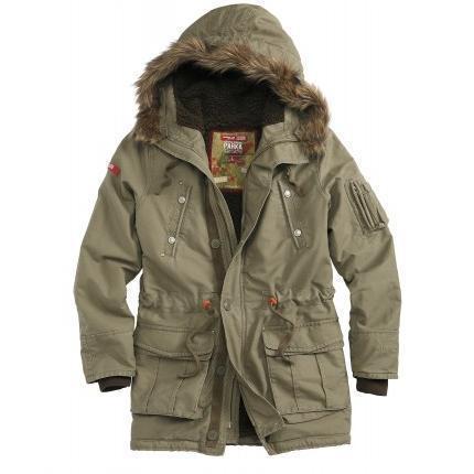 Куртка-пальто TROOPER SUPREME зимняя олива