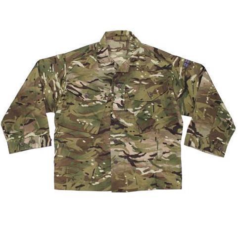 Британская полевая рубашка Combat, MTP tarn. 2 Mod. sort.