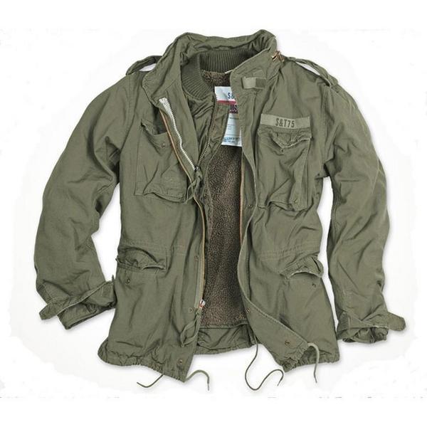 Куртка REGIMENT M 65 от SURPLUS olive (подстежка: иск. мех)