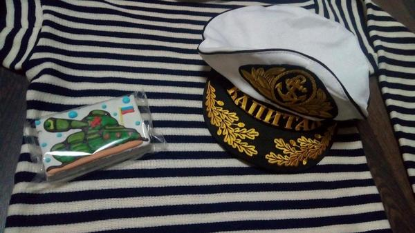 Подарок детский капитанский