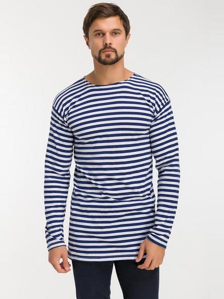 Тельняшка мужcкая ВМФ (темно-синяя полоса)